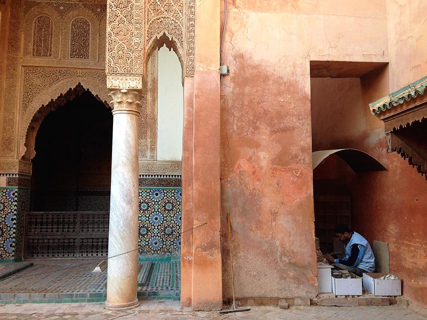 tombee_Saadiane_marrakech