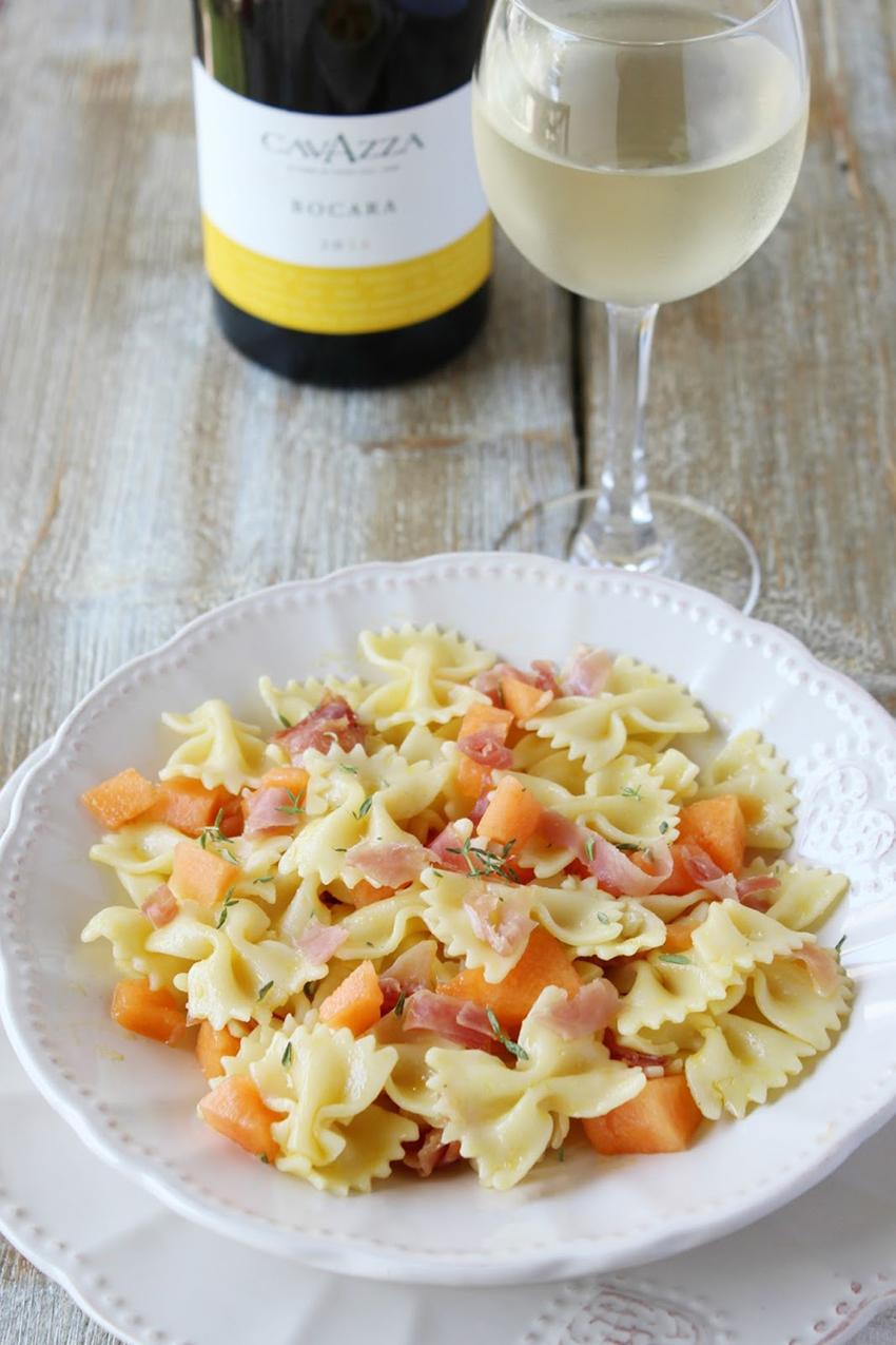 ricetta_pasta_fredda_melone_prosciutto