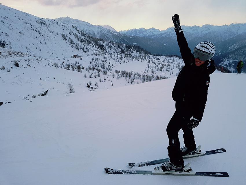 alessia_Canella_trentino_ski_sunrise